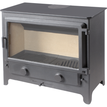 Defra Approved StovesMerlin Widescreen Multi Fuel Stove