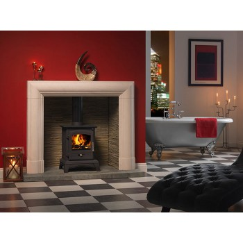 Defra Approved StovesVega Amor 100 Multi Fuel Stove